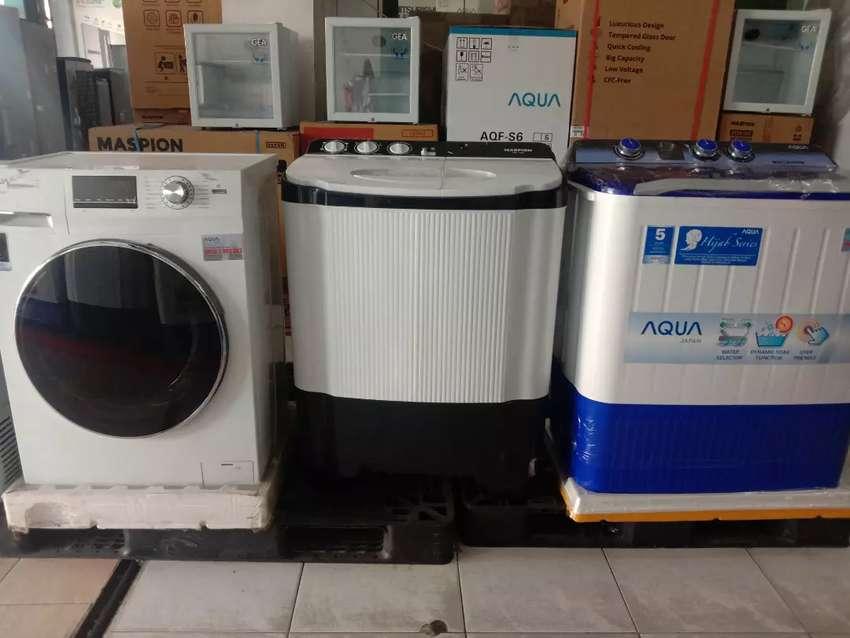 Kredit praktis mesin cuci all type cuma bayar admin 199.000 0