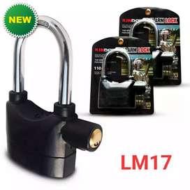 Ready! Gembok Alarm Anti pencuri LM17
