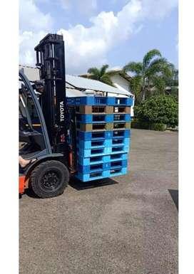 supplier pallet plastik baru, palet plastik second surabaya
