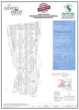 Dtcp approved open plots for sale in Balanagar ( shadnagar) .