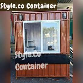 BOOTH CONTAINER CUSTOM | CONTAINER USAHA | CONTAINER CAFE
