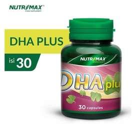NUTRIMAX DHA PLUS ISI 30 NATURECAPS melancarkan sirkulasi darah