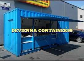 Container besar sesuai kebutuhan anda booth semi container