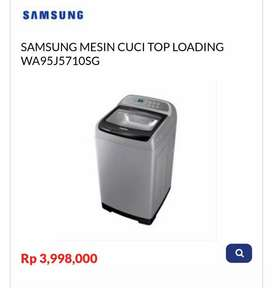 Kredit SAMSUNG MESIN CUCI TOP LOADING WA95J5710SG