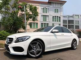C250 AMG 2017 Nik17 White Km10rb Panoramic ISP-2020 TDP Ringan 6Thn