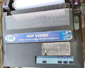 TVS DMP printer