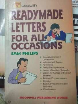 Readymade letters for all occasions