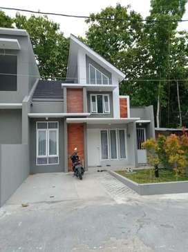 Dijual!Rumah Struktur 2lantai Ala Bangunan Eropa Satu-satunya di Yogya