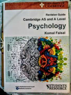 Cambridge International AS and A Level Psychology (9990) Notes