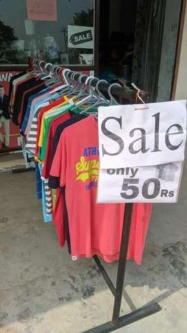 Men & women export tshirts only 50