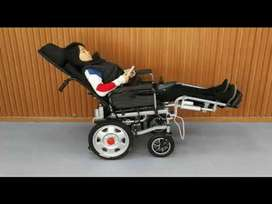 Electronic Wheelchair Reclining Backrest & Leg rest with Warranty