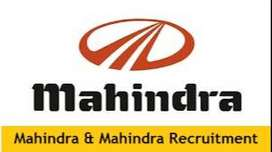 Dear Candidate We have urgent Hiring in India's Mahindra & Mahindra Co