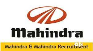 Dear Candidate We have urgent Hiring in India's Mahindra & Mahindra Co 0