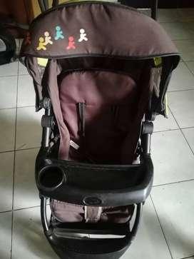 Preloved Baby stroller pliko milano