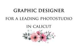 A leading Photo Studio in Calicut looking for a graphic designers