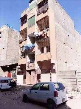 Ground space 31/G flat west open suitable for commercial use korangi