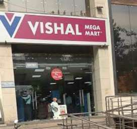 Hiring IN vishal Mega mart
