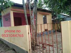 Plot with house 1080sq ft for sale purpose