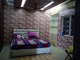 Fully furnished 3bhk +1servant room attach bathroom