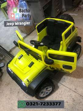 Electrical 4 motor suppoerted jeeps for kids