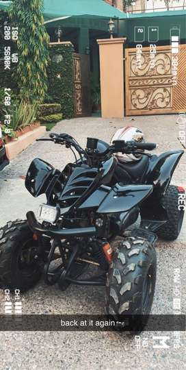 Atv Quad Bike 150cc FULLY CUSTOMISED