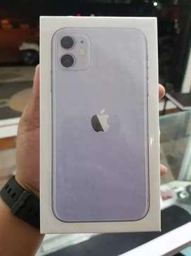 iPhone 11 64GB Purple, New, Garansi Resmi Indonesia, Bisa Tukar Tambah