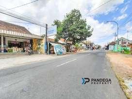 Dijual Tanah Tepi Jl Godean Km11 Cocok Gudang, Ruko Barat Pasar Godean