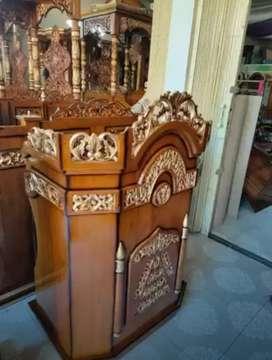 mimbar masjid harga pas mewah