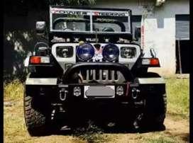 Modified stylish jeep