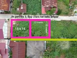 Tanah sertifikat 15 x 15