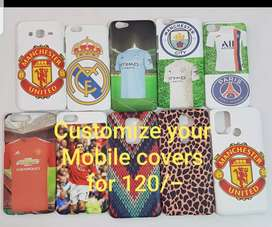 Customize your mobile covers at Triumph sportswear Fatorda Goa
