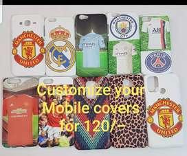 Customize your mobile covers at Triumph sportswear Fatorda Goa