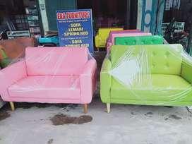 Erafurniture*sofa VINTAGE 2 person motif kancing/pcs