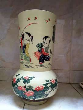 Jual guci pot tinggi 40 cm