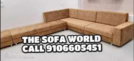 Brand New square handle longer sofa available