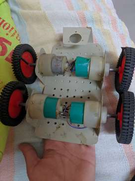 Motor car homemade without battery or transmitter