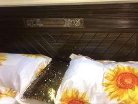 Large Bed Set with spring mattress