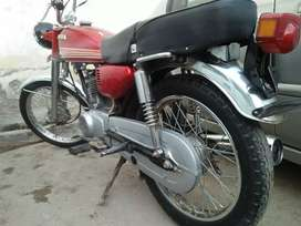 Honda 125 for down model lover