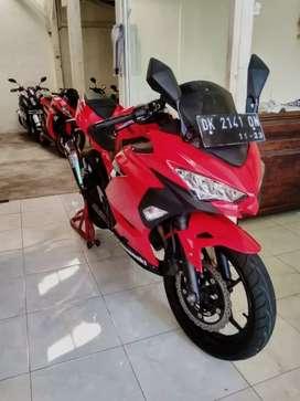 Jual ninja new merah Cash kredit Bali dharma motor