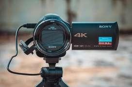 Jual Handycam Sony 4K FDR AX43