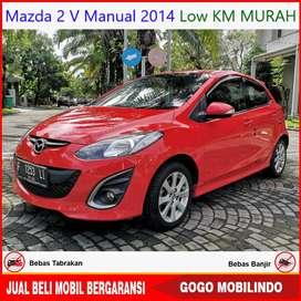 [Dp14jt] Mazda 2 V Manual 2014 Low KM Murah Bisa Kredit