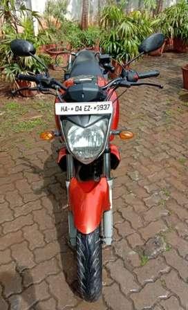 Yamaha FZ16,orange and black, 2008,single owner with self start, alloy