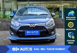 [OLX Autos] Toyota Agya 1.2 G TRD A/T 2017 Abu-Abu