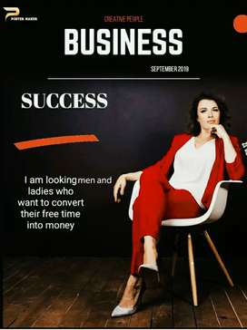 Business opportunity for men and women who want to work from home
