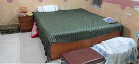 Bed is included with bed mattress