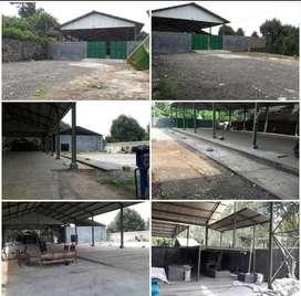 DIJUAL CEPAT Gudang + Tanah Pinggir Jalan Suruh - Karanggede