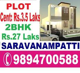 Prime project-Dtcp land for sale@ low cost@Saravanampatti-keeranatham