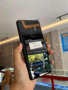 Samsung s9+ 6/64 second fullset garansi