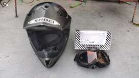 Helm Cross Cargloss Black