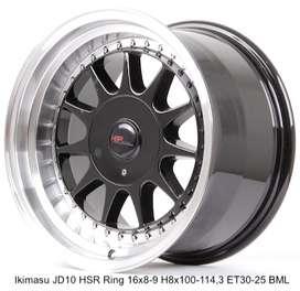 vellg new IKIMASU JD10 HSR R16X8/9 H8X100-114,3 ET30/25 BML